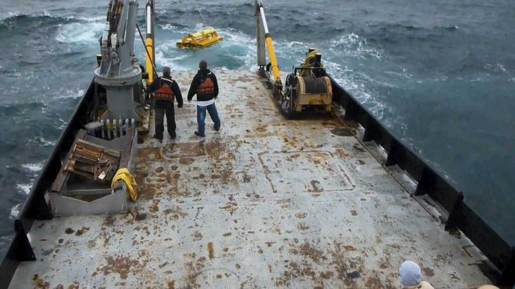 Deploying Artificial Upwelling Pumps